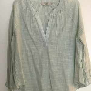 Gauzy too from the Loft.  Size L.